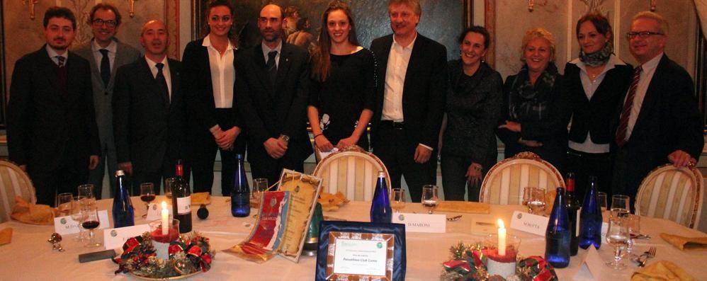 Panathlon, Premio Intesa nella mani della Clerici