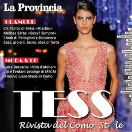 Di nuovo in edicola Tess  La rivista del Como Style