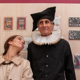 Torta sul palco del San Teodoro  È il compleanno di Shakespeare