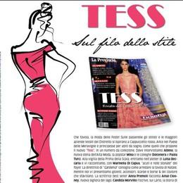 Tess si presenta al Bennet  La moda a Montano Lucino