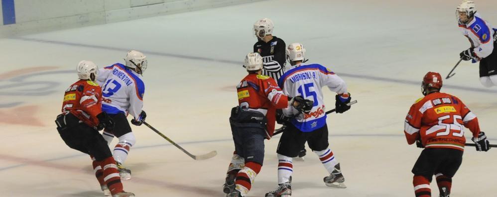 L'Hockey Como scivola al quarto posto