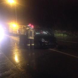 Scontro a Lomazzo  Quattro persone ferite