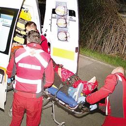 Plesio, cade dalla moto  Trentenne all'ospedale