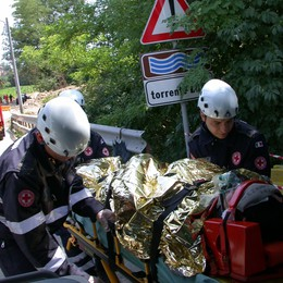 Incidente a Carbonate  Paura per una bimba