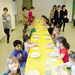 Erba, basta turni a pranzo Inaugurata la mensa a Crevenna