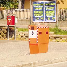 Solbiate,  controllo stradale  Operativi gli autovelox fissi