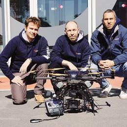 I droni fanno gola  «Noi di Como pionieri»