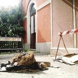 Stazione di Asnago senza pace  Ancora vandali e degrado