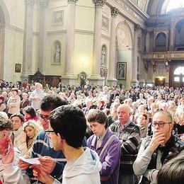 Da Olgiate a Monza   «Siamo qui per fede»