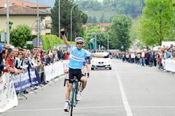 Rubino implacabile batte ancora una volta Salvetti compagno di fuga e vince il Criterium 2014