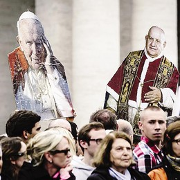 La parola che unisce  tre Papi diversi