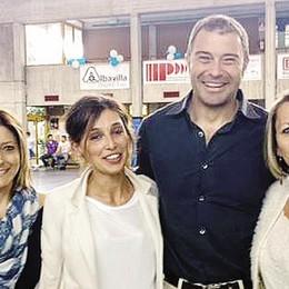 Rossi ad Albavilla, visita bipartisan  Con la Castelnuovo, ma anche con Vitali