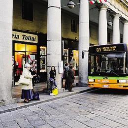 Portici Plinio a Como  Addio bus dal 9 giugno