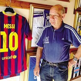 La maglia di Messi è a Rodero  In cambio   quella di Ranocchia