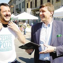 Mariano, lo show di Salvini   «L'infamia non fermerà la Lega»