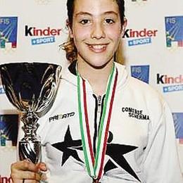 Cremonesi campionessa italiana   La stellina Comense centra un titolo storico