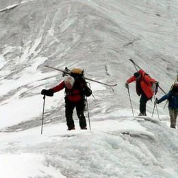 Quattro comaschi sulle Ande  A seimila metri a 80 anni