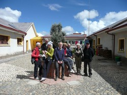 Foto di gruppo in Bolivia