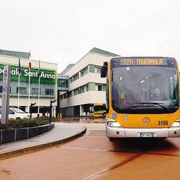 Come arrivare al Sant'Anna  Due bus in più per i cittadini