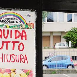 Addio all'ortofrutta Arcobaleno  Chiuso il market di via Magenta