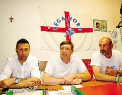 La conferenza stampa di ieri del Carroccio: da sinistra Massimiliano Stigliano, Cesare Pozzi e Angelo Sala