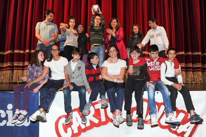 Como premiazione Catolandia al Teatro Sociale, Scuola Media VIlla Santa Maria di Tavernerio