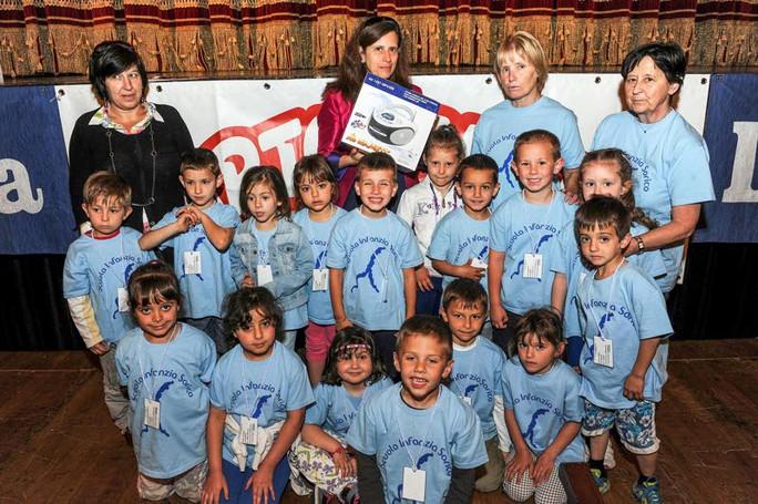 Como premiazione Catolandia al Teatro Sociale, Scuola d'Infanzia Sorico