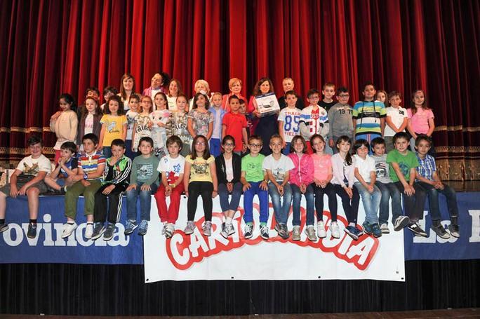 Como premiazione Catolandia al Teatro Sociale, Scuola Elmentare Anna Vertua Gentile di Dongo