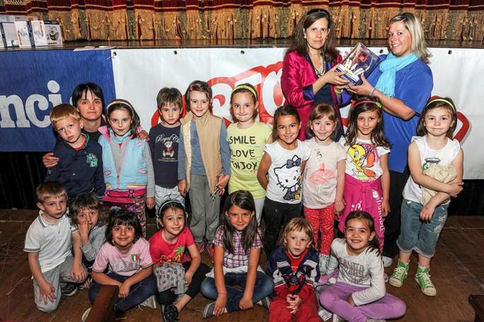 Como premiazione Catolandia al Teatro Sociale, Scuola d'Infanzia Grandola ed Uniti