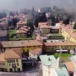 """Canzo usa il """"drone""""  Racconta  il turismo che verrà"""