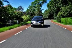 La nuova Toyota Aygo su strada