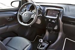 La nuova Toyota Aygo, gli interni
