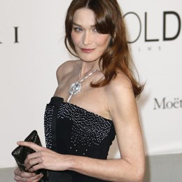 Carla Bruni ospite di Bulgari  Un weekend tutto comasco