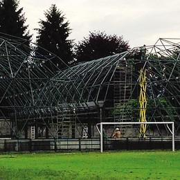 """""""Palloni"""", cantiere per tutta l'estate  Saranno pronti per metà settembre"""