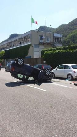 Como - incidente in tangenziale
