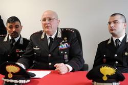 Como conferenza stampa del Comandante Provinciale dei Carabinieri per l'arresto di Dritan Dermiaj presunto omicida di Lidia Nusdorfi