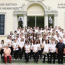 Settanta musicisti  a Olgiate  Torna lo stage internazionale