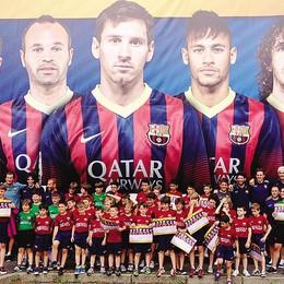 Olgiate, l'eredità del Barça  Un campo rimesso a nuovo