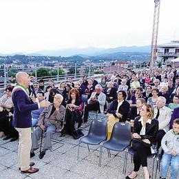 Cantù svela uno dei propri tesori  Una terrazza panoramica per tutti