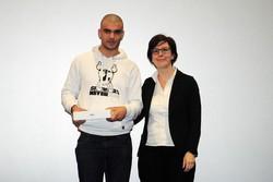 Montano Lucino Cinema UCI, premiazione concorso Ciakkare, Patrick Drighetto - Como panorama – 5aL RIPAMONTI