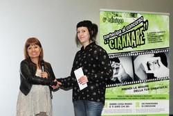 Montano Lucino Cinema UCI, premiazione concorso Ciakkare, Eleonora Pafundo - Al Sangue – 2° PA RIPAMONTI