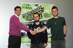 Montano Lucino Cinema UCI, premiazione concorso Ciakkare, Premio video giornalistico: Riccardo Naverio - La Polveriera per i giovani – 4 PC RIPAMONTI