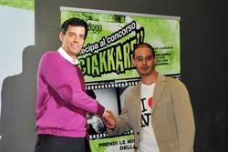 Montano Lucino Cinema UCI, premiazione concorso Ciakkare, soggetto un panorama di emozioni: Giuseppe Cosentino - Como A Walk to Remember