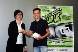 Montano Lucino Cinema UCI, premiazione concorso Ciakkare, Gabriele Uboldi - Una giornata (con)torta – 1a B LICEO classico VOLTA