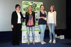 Montano Lucino Cinema UCI, premiazione concorso Ciakkare, Chiara De Luca, Lisa Pittia, Marina Ponzin - Dimmi cosa mangi e ti dirò chi sei – 2° C estetica-CFP