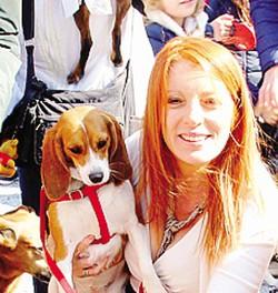 1 Francesca Pascale con Dudù e Dudina2 L'ex ministro lecchese Michela Brambilla3 La Pascale con Silvio Berlusconi e i due barboncini