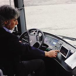 Autisti dei bus con il tablet   Così si risparmia gasolio
