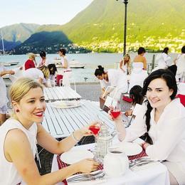 In seicento a tavola  nella Riva total white
