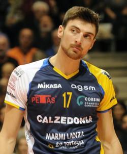 Simone Anzani pallavolista Bizzarone
