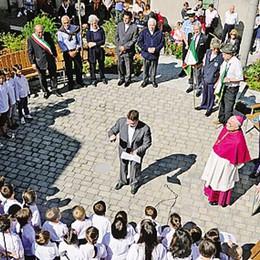 Zelbio, i cent'anni dell'asilo  Il vescovo: «Festa di comunità»